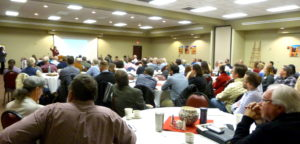 crowd at the 27th Annual Meeting
