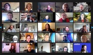 attendees in zoom meeting